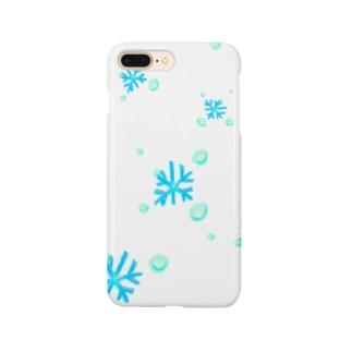 雪が降りる10秒前 Smartphone cases