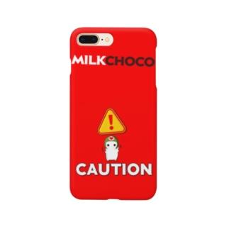 ミルクチョコキャラクター Smartphone cases