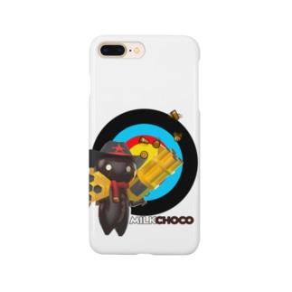 ミルクチョコグッズキャラクター Smartphone cases