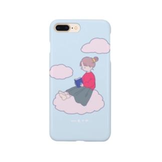 ほんをよむ Smartphone cases