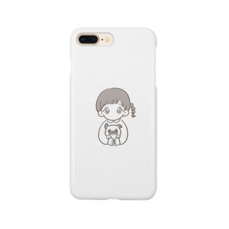 パグちゃん Smartphone cases