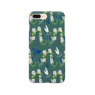 honne  flower パターン 3 Smartphone cases
