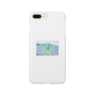 海とメロンクリームソーダ Smartphone cases