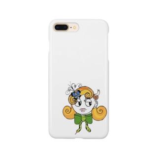 ヘビ女 Smartphone cases