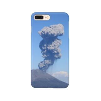 桜島 Smartphone cases