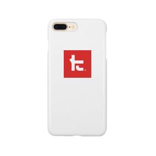 タタキケンサキロゴケース Smartphone cases
