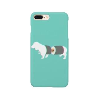 すし犬 - sushi dog - Smartphone cases