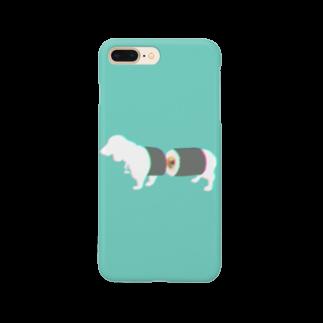 お寿司のすし犬 - sushi dog - Smartphone cases