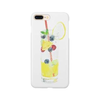 ミックスフルーツジュース Smartphone cases