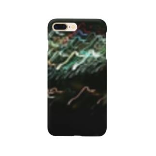 揺れ、溢れる夜 Smartphone cases