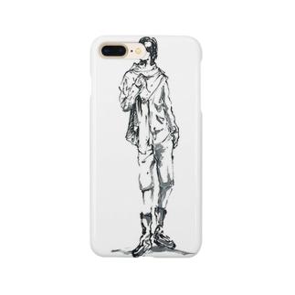旅人風男性 Smartphone cases