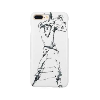 白い踊り子 Smartphone cases