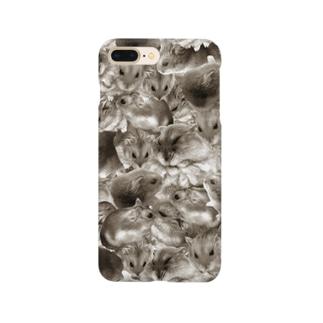 むぎゅむぎゅハムスター Smartphone cases