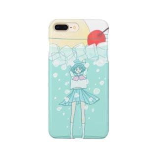 ソーダ・ガール Smartphone cases