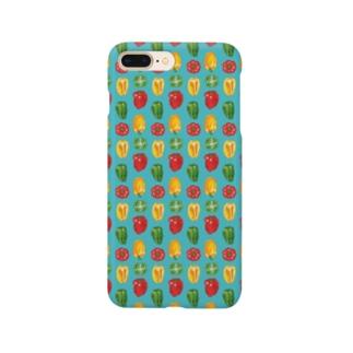 ピーマンとパプリカにまざるモンスター Smartphone cases