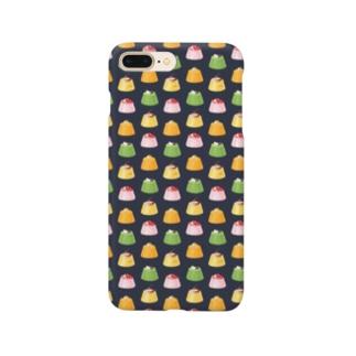 プリンにまざるモンスター Smartphone cases