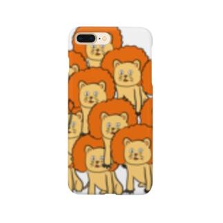 どう見てもライオンだよ Smartphone cases