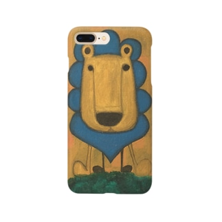 ライオン Smartphone cases
