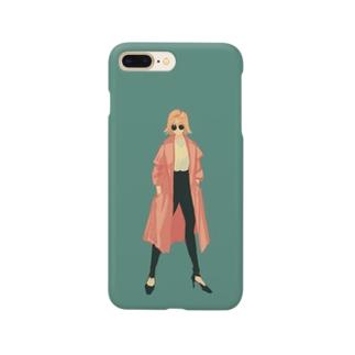 春コート Smartphone cases