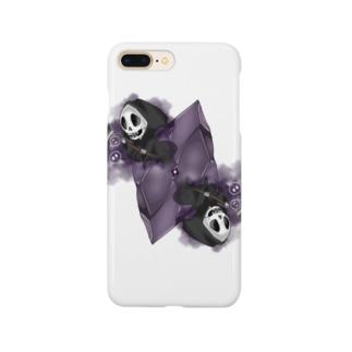 フェイクディガー「闇の黒い宝石」 Smartphone cases