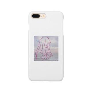 風がなびく触れる  Smartphone cases