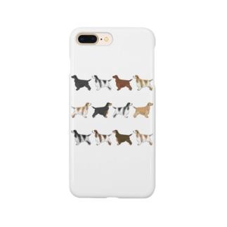 イングリッシュコッカーフルコート Smartphone cases