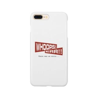 WHOOPS!ERR!!(Webネタseries) Smartphone cases