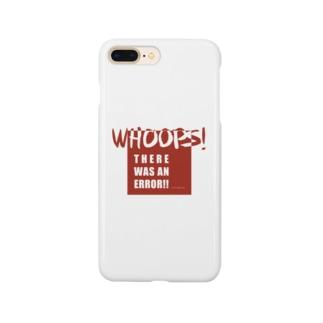 WHOOPS!ERR!! 2(Webネタseries) Smartphone cases