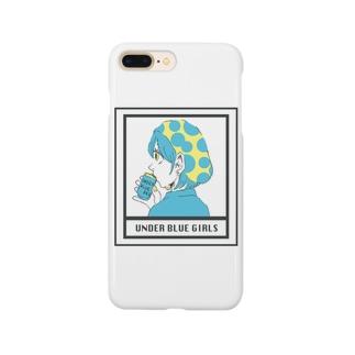 UNDER BLUE GIRL Smartphone cases