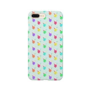 クリームソーダにまざるモンスター Smartphone cases