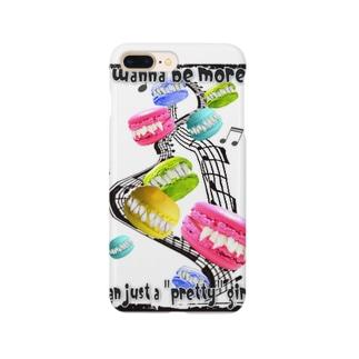 牙マカロン Smartphone cases