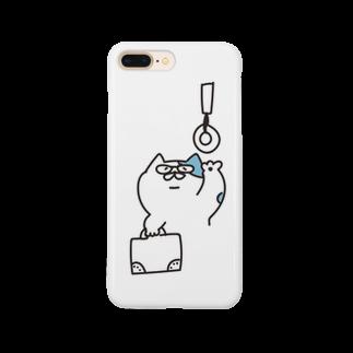 なかのなのかなの通勤ねこ Smartphone cases
