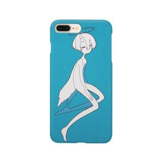 スヤスヤβ Smartphone cases