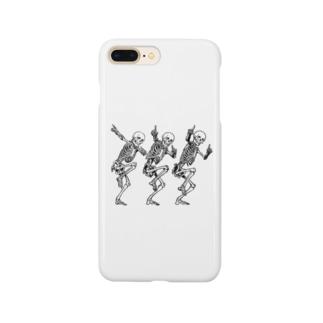 骨のスタンプ Smartphone cases
