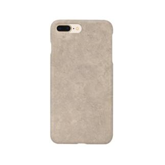 足元(2019/03/25)花畑の土 Smartphone cases