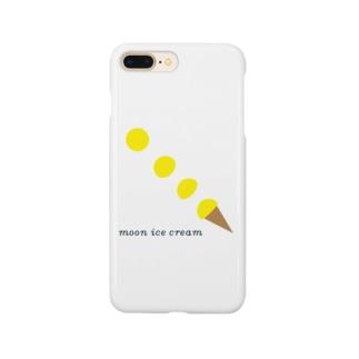 moon ice cream Smartphone cases