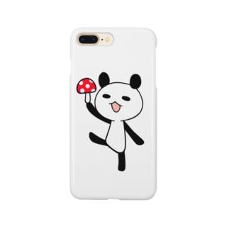 きのこパンダ Smartphone cases