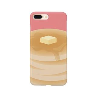 おいしいぱんけーき Smartphone cases