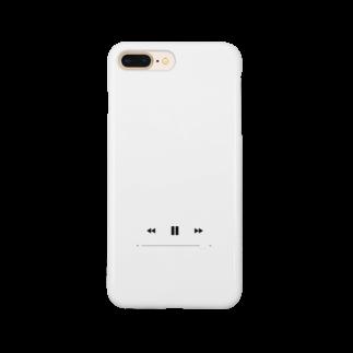 マツヤの再生ボタン Smartphone cases