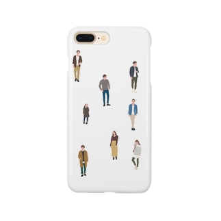 Many people Smartphone cases