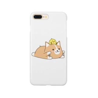 いたわりコーギー Smartphone cases