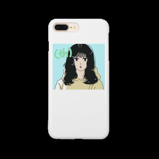 chanchanの(th)の発音をするイケてる彼女 Smartphone cases