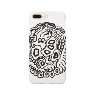 ようもよう round ペンタッチver. Smartphone cases