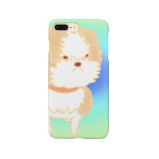 お散歩シーズーちゃん Smartphone cases