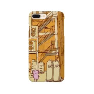 あるなちゃん と何もない街 Smartphone cases
