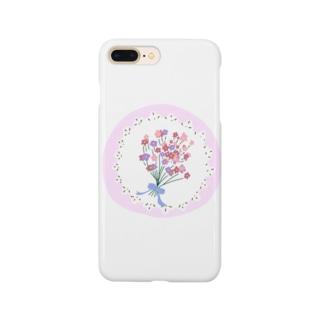 レースブーケ Smartphone cases