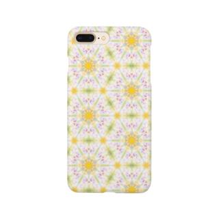 幾何学模様「蒲公英」 Smartphone cases