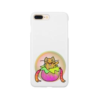 ネコのお届けですにゃ Smartphone cases