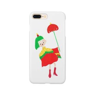 アンブレラ女子 Smartphone cases