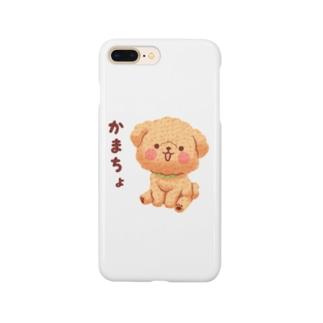 かまちょトイプードル Smartphone cases